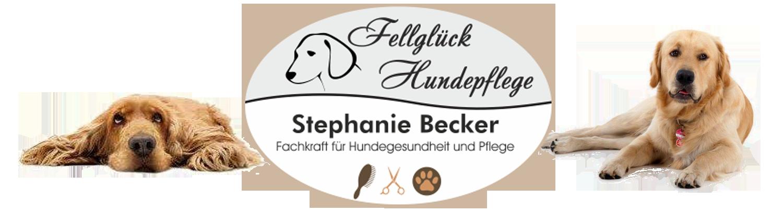 Fellglück Hundepflege Logo